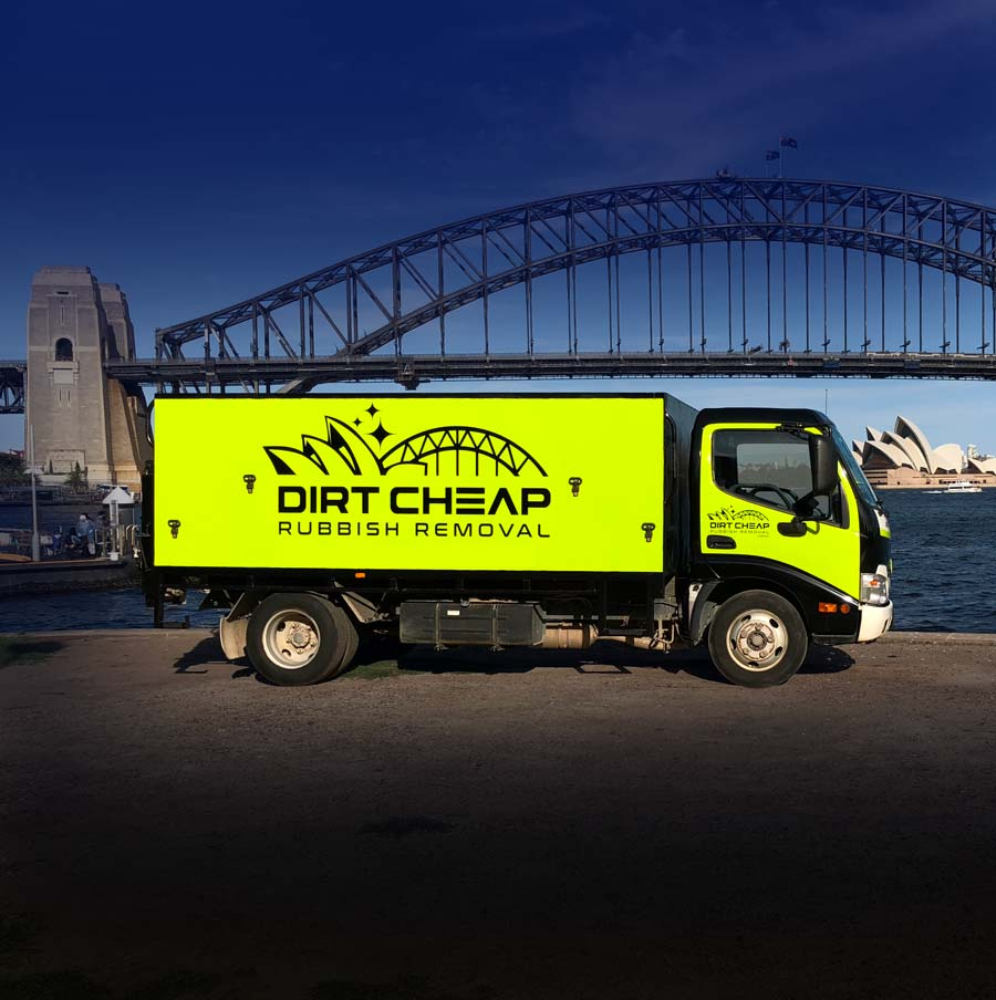 Dirt Cheap Rubbish Removal by Sydney Harbour Bridge